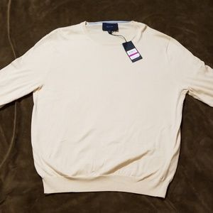 NWT Faconnable Crewneck Sweater